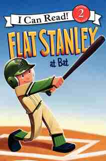 Flat Stanley At Bat by Jeff Brown