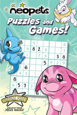 Book Neopets: Puzzles And Games! by Vivian Larue
