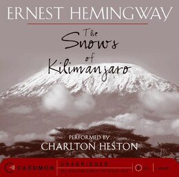 Book The Snows Of Kilimanjaro Cd by Ernest Hemingway