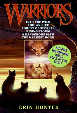 Book Warriors Box Set Volumes 1 to 6 by Erin Hunter