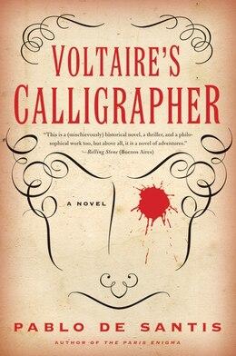 Book Voltaire's Calligrapher: A Novel by Santis Pablo De