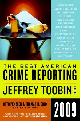 Book The Best American Crime Reporting 2009 by Jeffrey Toobin
