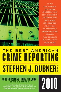 Book The Best American Crime Reporting 2010 by Otto Penzler
