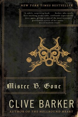 Book Mister B. Gone by Clive Barker