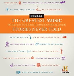 Book The Greatest Music Stories Never Told: 100 Tales from Music History to Astonish, Bewilder, and… by Rick Beyer