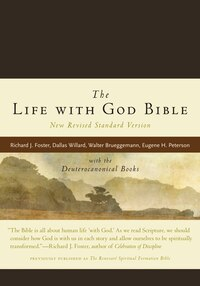 The Life With God Bible Nrsv (compact, Ital Leath, Brown): with the Deuterocanonical Books