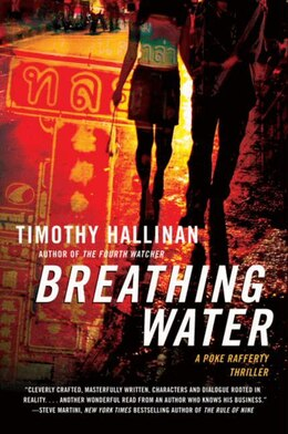 Book Breathing Water: A Poke Rafferty Thriller by Timothy Hallinan