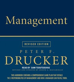Book Management Rev Ed Cd by Peter F. Drucker