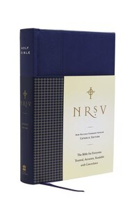 Nrsv Standard Catholic Ed Bible Anglicized (navy/blue)