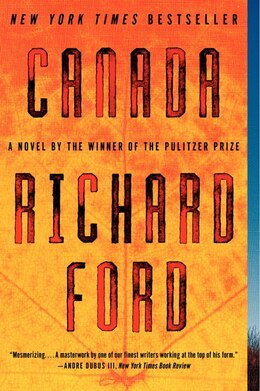 Book Canada by Richard Ford