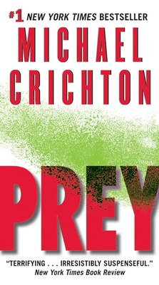 Book Prey by Michael Crichton