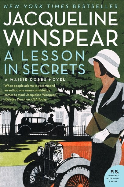 A Lesson In Secrets: A Maisie Dobbs Novel by Jacqueline Winspear