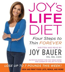Book Joy's Life Diet Cd: Four Steps To Thin Forever by Joy Bauer