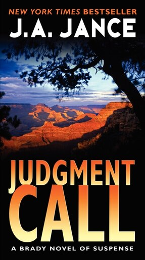 Judgment Call: A Brady Novel Of Suspense by J. A Jance