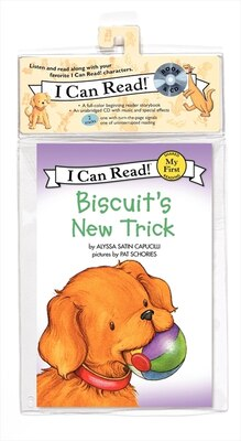 Book Biscuit's New Trick Book and CD by Alyssa Satin Capucilli