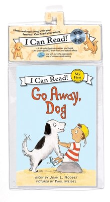 Book Go Away, Dog Book And Cd by Joan L. Nodset