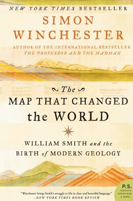 Book The Map That Changed The World: William Smith and the Birth of Modern Geology by Simon Winchester