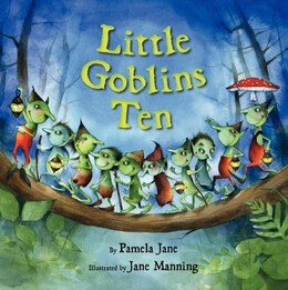 Book Little Goblins Ten by Pamela Jane