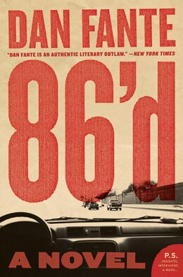 Book 86'd: A Novel by Dan Fante