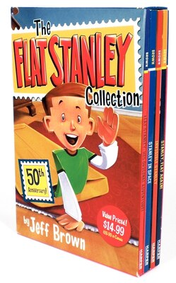 Book The Flat Stanley Collection Box Set: Flat Stanley, Invisible Stanley, Stanley in Space, and Stanley… by Jeff Brown