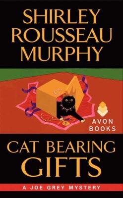 Book Cat Bearing Gifts by Shirley Rousseau Murphy