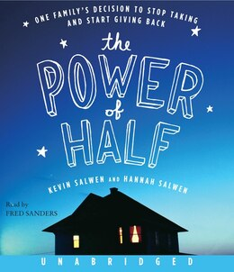 Book The Power Of Half Cd by Kevin Salwen