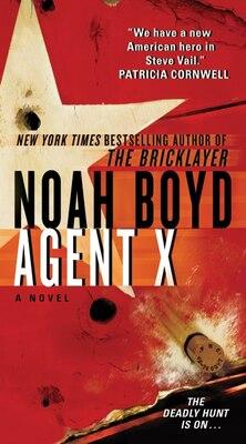 Book Agent X by Noah Boyd
