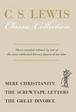 Book Mere Christianity/Screwtape Letters/Great Divorce - Box Set by C. S. Lewis