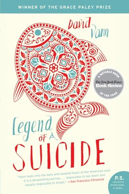 Book Legend Of A Suicide: Stories by David Vann