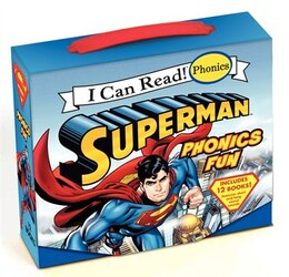 Book Superman Classic: Superman Phonics Fun: Superman Phonics Fun by Lucy Rosen