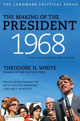 Book The Making of the President 1968 by Theodore H. White