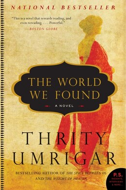 Book The World We Found: A Novel by Thrity Umrigar