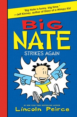 Book Big Nate Strikes Again by Lincoln Peirce