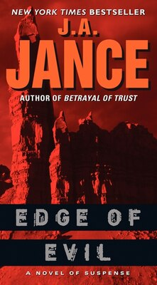 Book Edge of Evil: A Novel Of Suspense by J. A. Jance