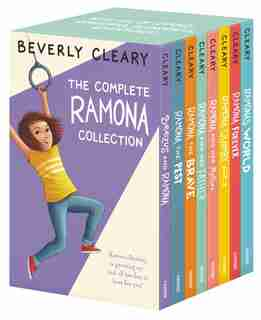 The Complete 8-book Ramona Collection: Beezus and Ramona, Ramona and Her Father, Ramona and Her Mother, Ramona Quimby, Age 8, Ramona Forev by Beverly Cleary