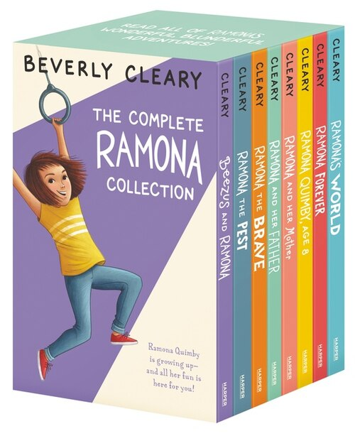 The Complete 8-book Ramona Collection: Beezus and Ramona, Ramona and Her Father, Ramona and Her Mother, Ramona Quimby, Age 8, Ramona Forev de Beverly Cleary