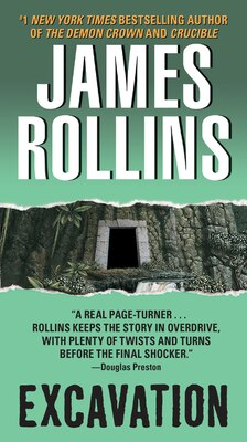 Book Excavation by James Rollins