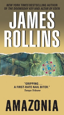 Book Amazonia by James Rollins