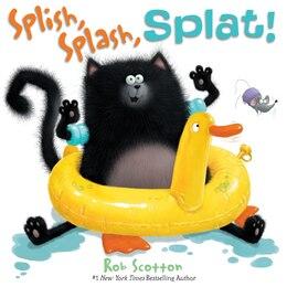 Book Splish, Splash, Splat! by Rob Scotton