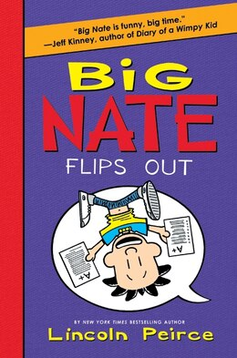 Book Big Nate Flips Out by Lincoln Peirce