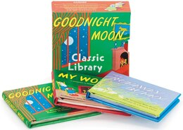 Book Goodnight Moon Classic Library: Contains Goodnight Moon, The Runaway Bunny, and My World by Margaret Wise Brown