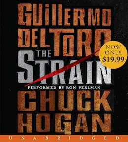 Book The Strain Low Price Cd: Book One Of The Strain Trilogy by Guillermo Del Toro