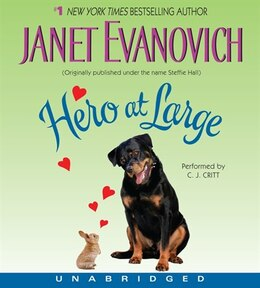 Book Hero At Large Cd by Janet Evanovich