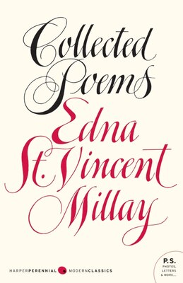 Book Collected Poems by Edna St. Vincent Millay