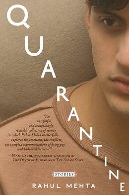 Book Quarantine: Stories by Rahul Mehta