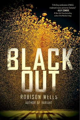Book Blackout by Robison Wells