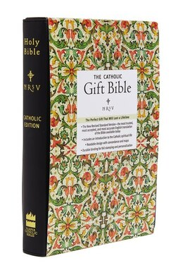 Book Nrsv - The Catholic Gift Bible (black, Imitation Leather) by Harper Bibles