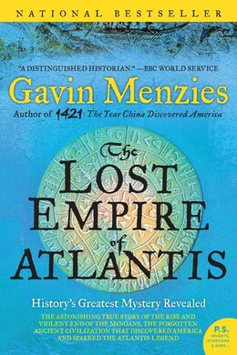 Book The Lost Empire Of Atlantis: History's Greatest Mystery Revealed by Gavin Menzies