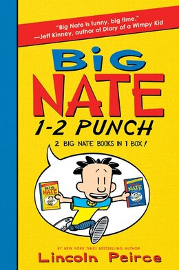 Book Big Nate 1-2 Punch: 2 Big Nate Books In 1 Box!: Includes Big Nate And Big Nate Strikes Again by Lincoln Peirce