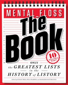 Book Mental_floss: The Book: The Greatest Lists in the History of Listory by Will Pearson